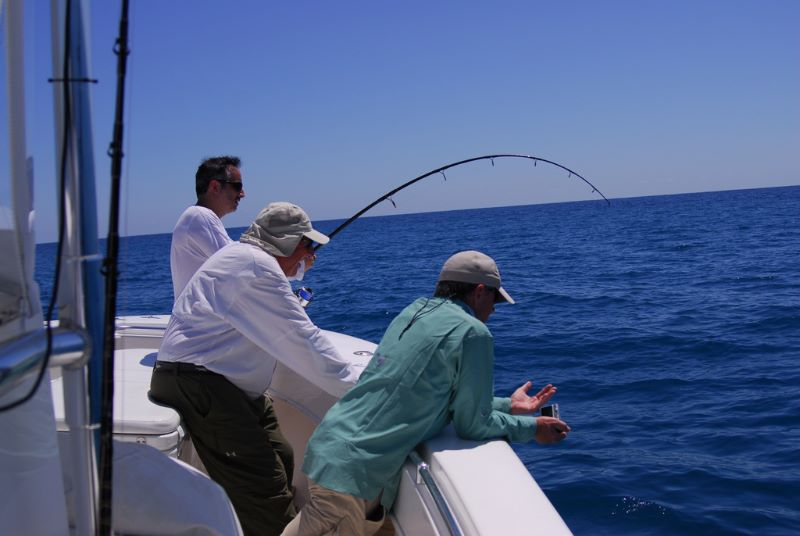 The fight is on for a Stuart Florida fishing charter