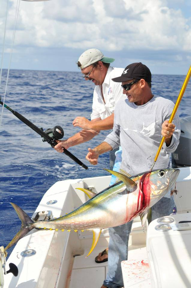 Tuna fishing charters near Orlando Fl.