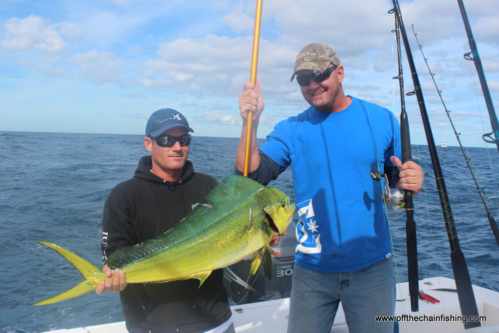 Stuart Fl. fishing charters offer great action.